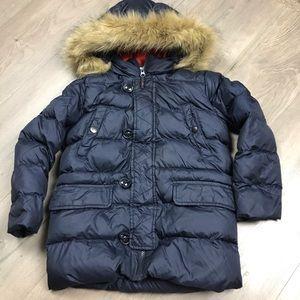 Uniqlo Faux Fur Puffer Long Jacket
